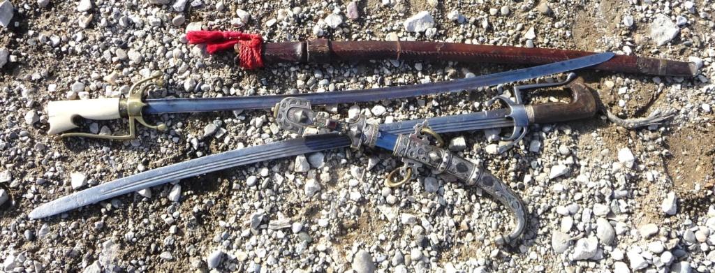 "2 sabres marocains ""nimchas"" Nimc610"