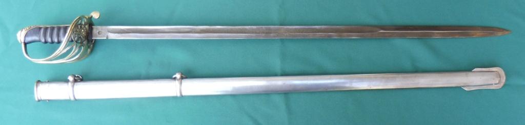 Sabre britannique modèle 1854 pour Officier d'Infanterie Sab211
