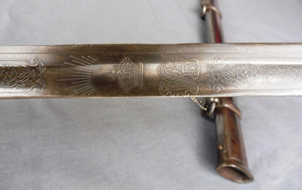 Sabre britannique modèle 1854 pour Officier d'Infanterie Sab711