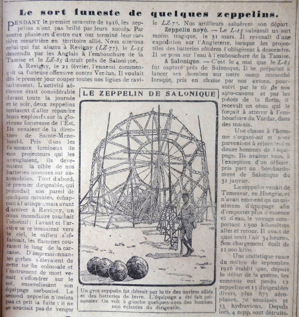 Avis aux collectionneurs : recherche photos objets-souvenirs Zeppelin LZ 85 Zeppel10
