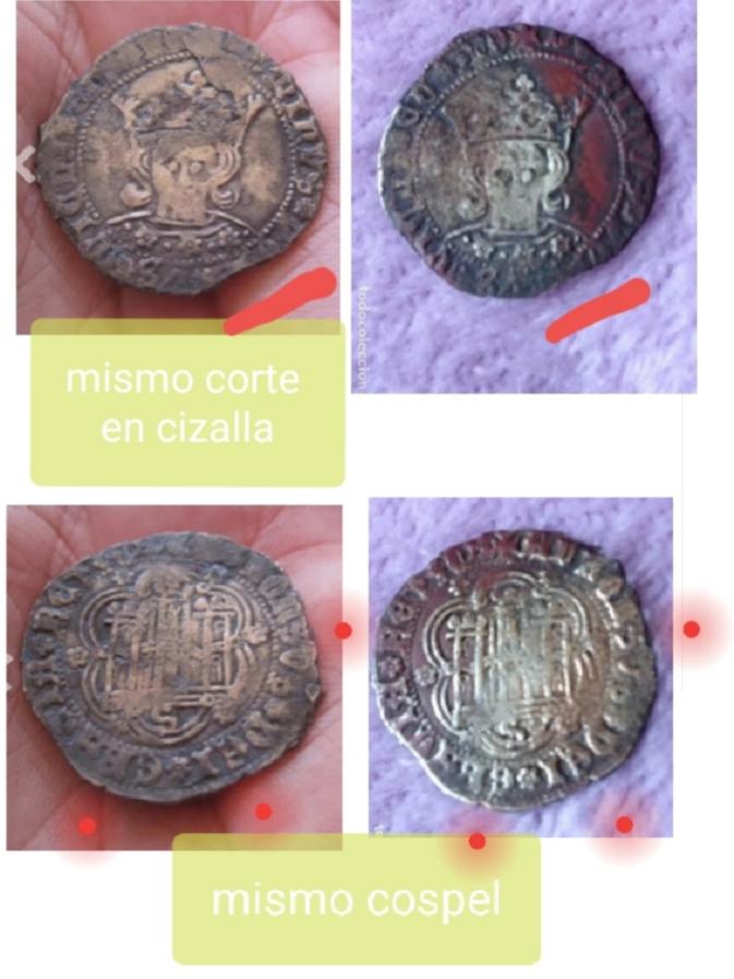 Falsificación cuartillo Alfonso de Ávila  20190710