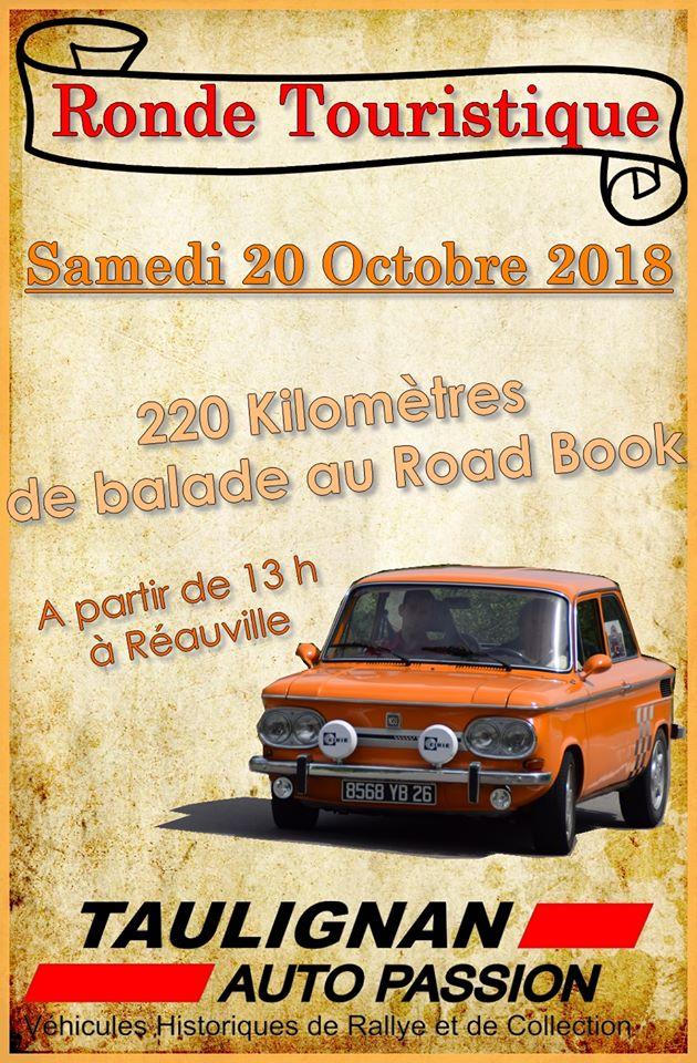 [26] 20/10/2018 - Ronde touristique à Réauville 36555910