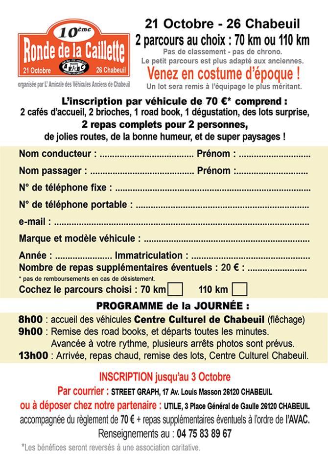 [26] 21/10/2018 - 10ème Ronde de la Caillette - Chabeuil 41115510