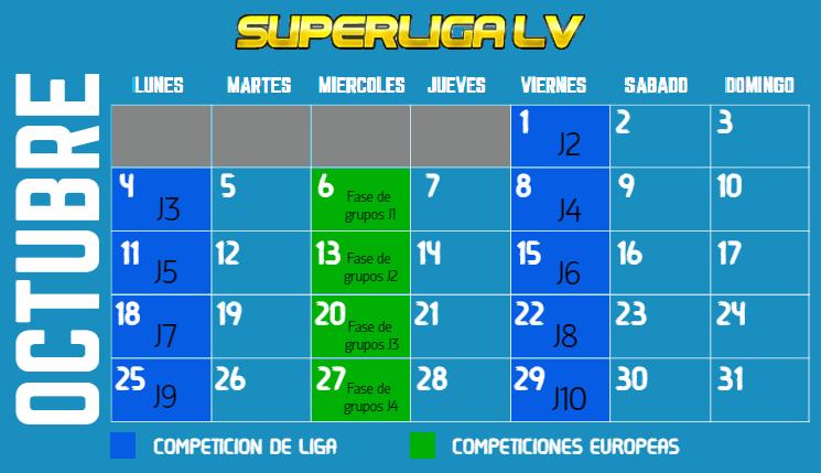SuperLigaLV Octubr15