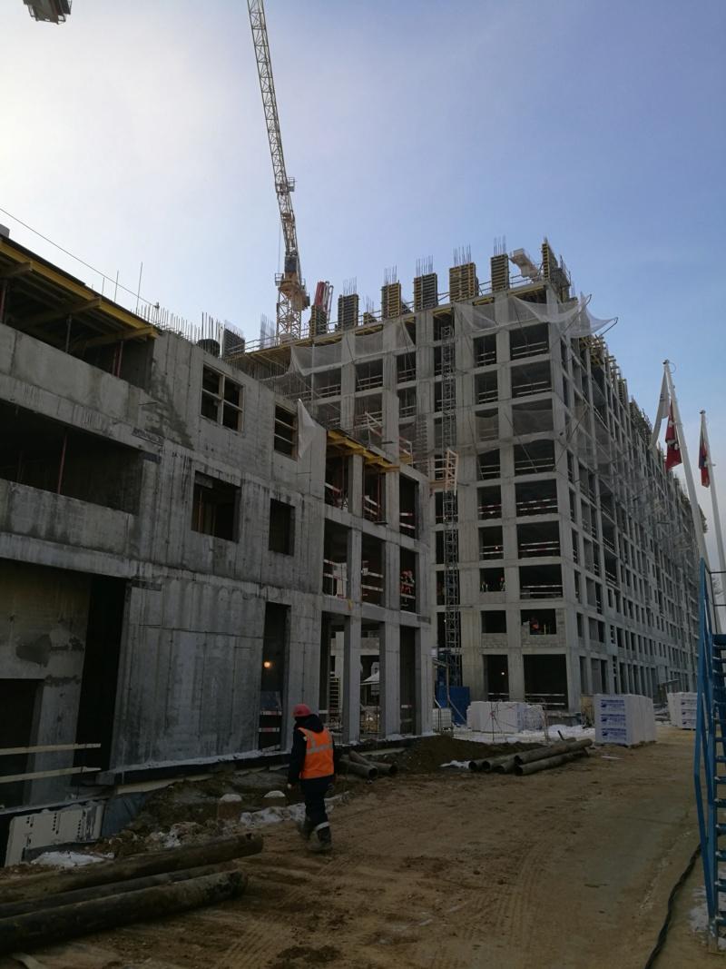 Строительство 5 корпуса 34511