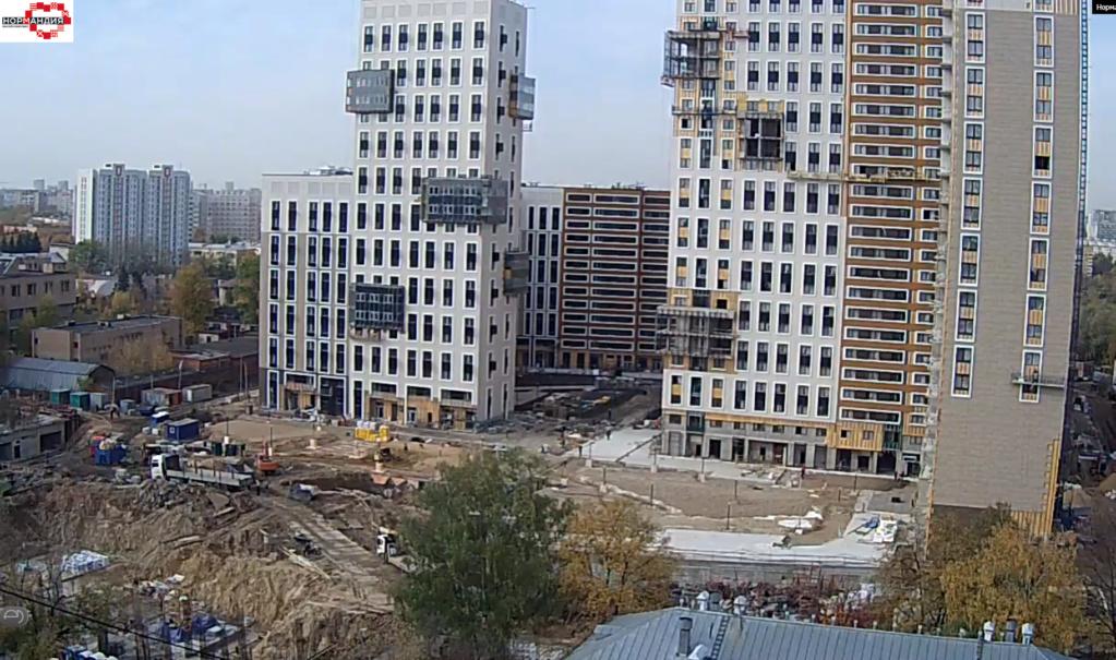 """Веб-камеры на площадке строительства ЖК """"Нормандия"""" - Страница 17 5610"""