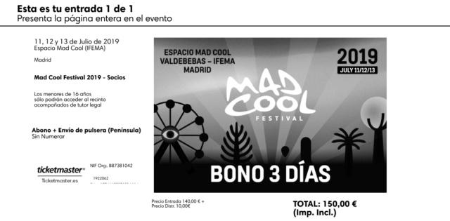 [VENDIDA YA] Vendo abono Mad Cool (150€) Madcoo10