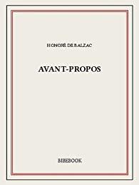 [Balzac, Honoré (de)] Avant-propos (à la Comédie humaine) 41nhof10