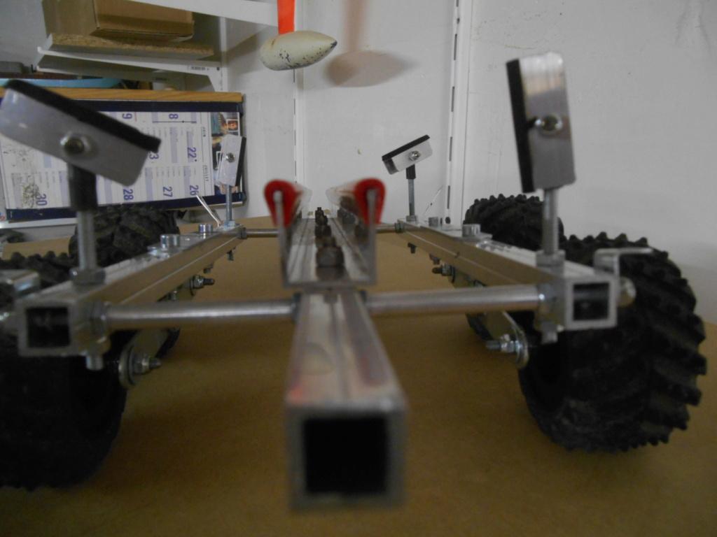 Fabrication de remorque double essieux fait maison tout en alu - Page 3 00411