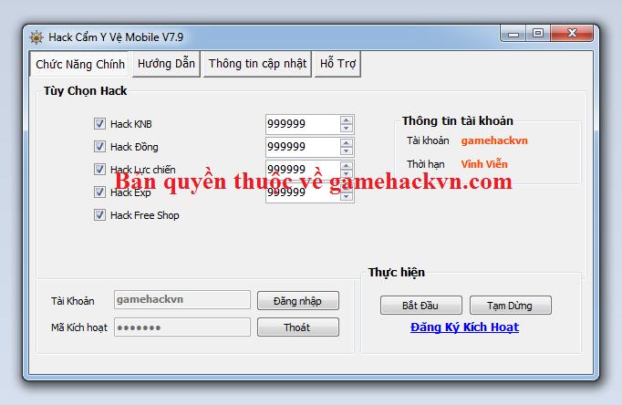 Hack Cẩm Y Vệ mobile miễn phí Cznhga10