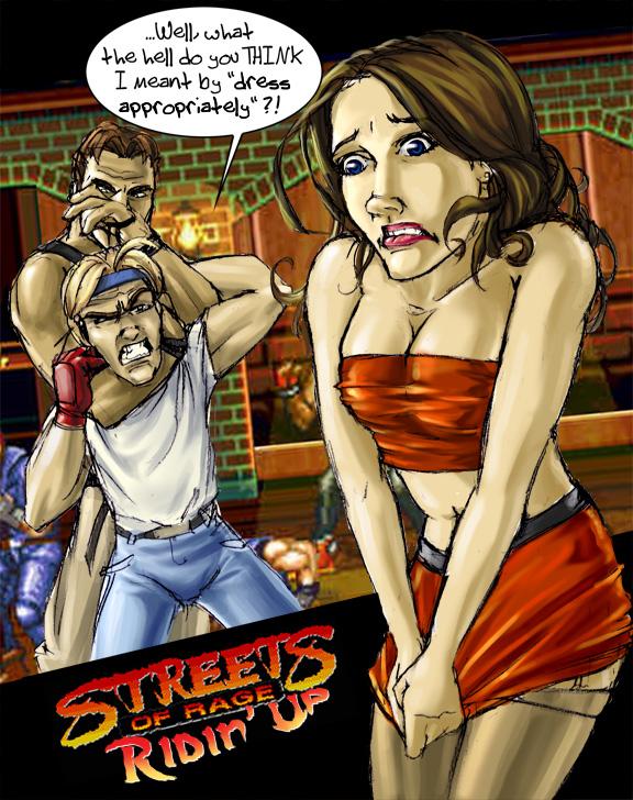 MEGADRIVE vs SUPER NINTENDO : Fight ! - Page 27 Street11