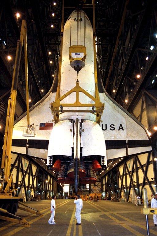 Avez vous des photos de l'orbiteur Columbia ? Ksc-9710
