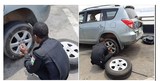 Man Reveals What Policemen Did After Being Stranded On Lagos Bridge (See Photos) 1-15510