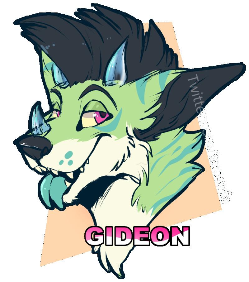 feuer schlägt mit einem stift auf papier Gideon11