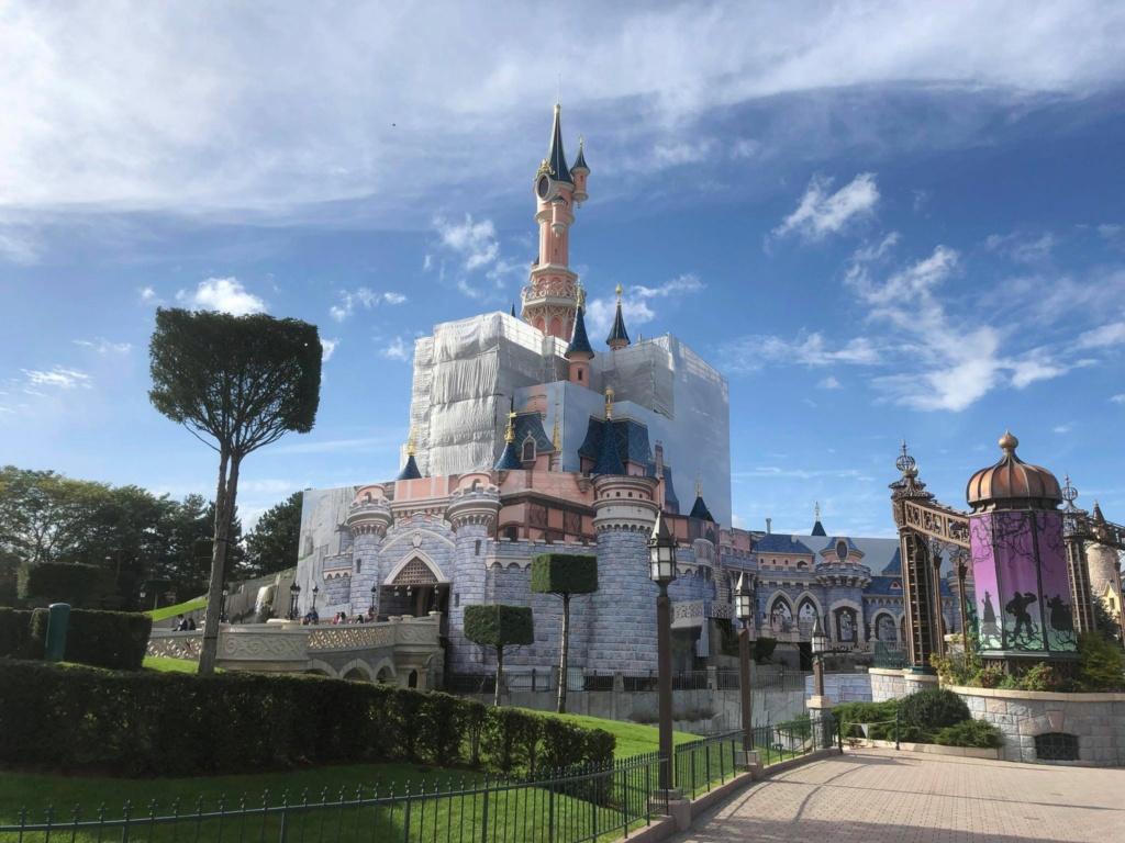 Le Château de la Belle au Bois Dormant - Réhabilitation [Fantasyland - 2020-2022] - Page 21 24334610