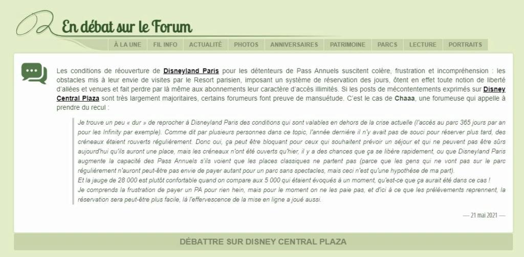 Disneyland Paris rouvert pendant la COVID-19 (dès juin 2021) - Page 2 Captu323