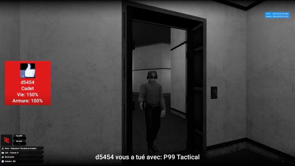 [TRAITEE] Plainte contre le Cadet Azurnice ( D5454 ) 20181013