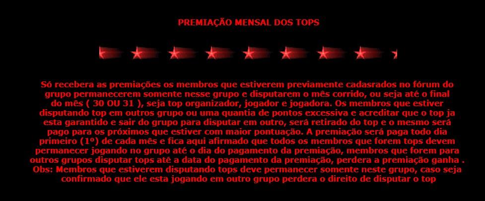 COMUNICADO DE ESCLARECIMENTO DO TOP DEZEMBRO 00top10