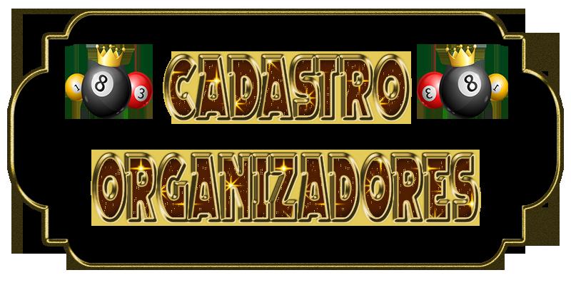ȯ CADASTRO ORGANIZADOR  Cadast10