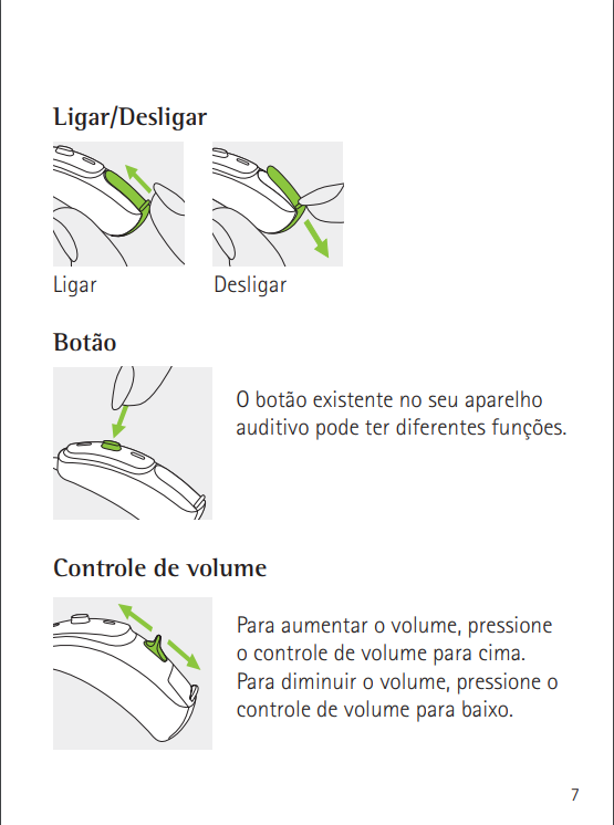 Manual do Aparelho Naída V Manual11