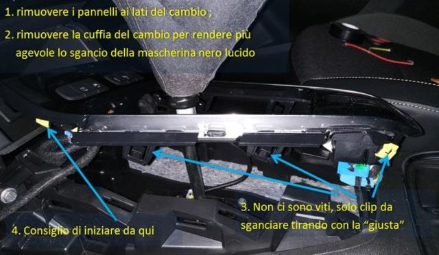 Illuminare vano portaoggetti fronte cambio con led bianco - Pagina 2 F111