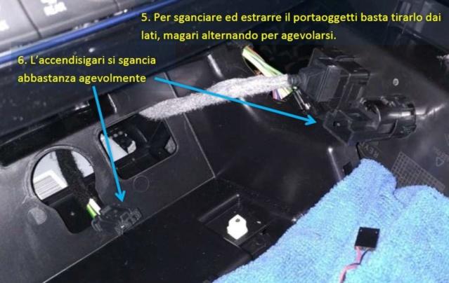 Illuminare vano portaoggetti fronte cambio con led bianco - Pagina 2 F311