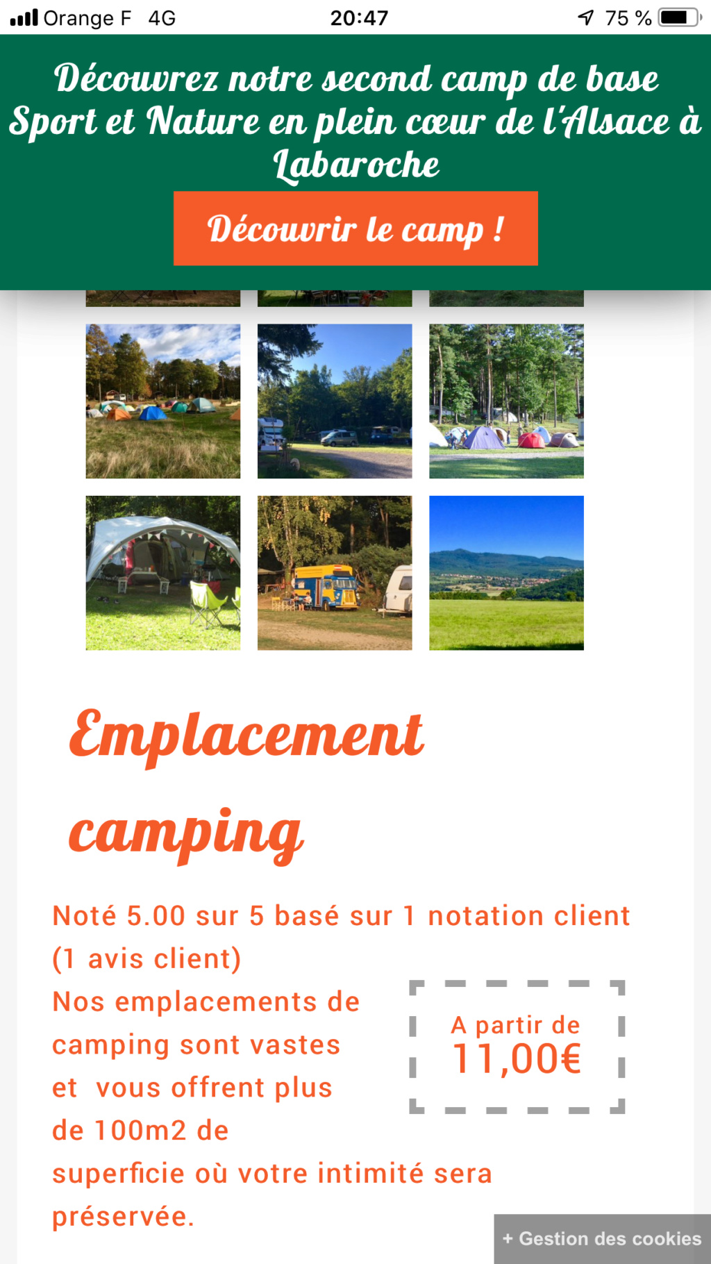 Camping de Osenbach De86f110