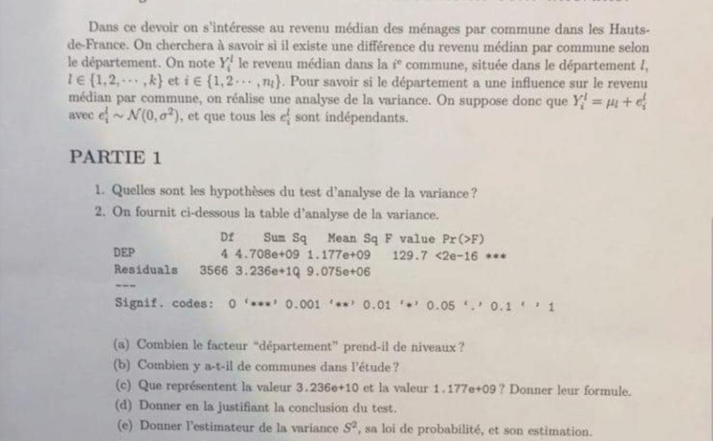 Lecture d'un tableau d'analyse de variance Screen14