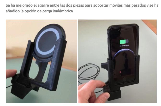 Soporte móviles especial Evoque Captur13