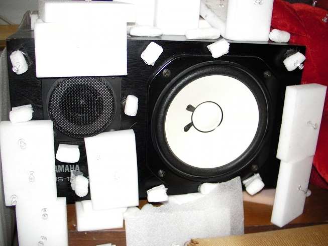 Vous écoutez vos disques dans quelle salle nom d'une poire? Yamaha10