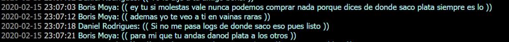 Reporte a usuarios [Tucano_2] [Peyo_Ssj] [Ramiro_vercetti] [Boris Moya] Y acusados en reporte. Insult14