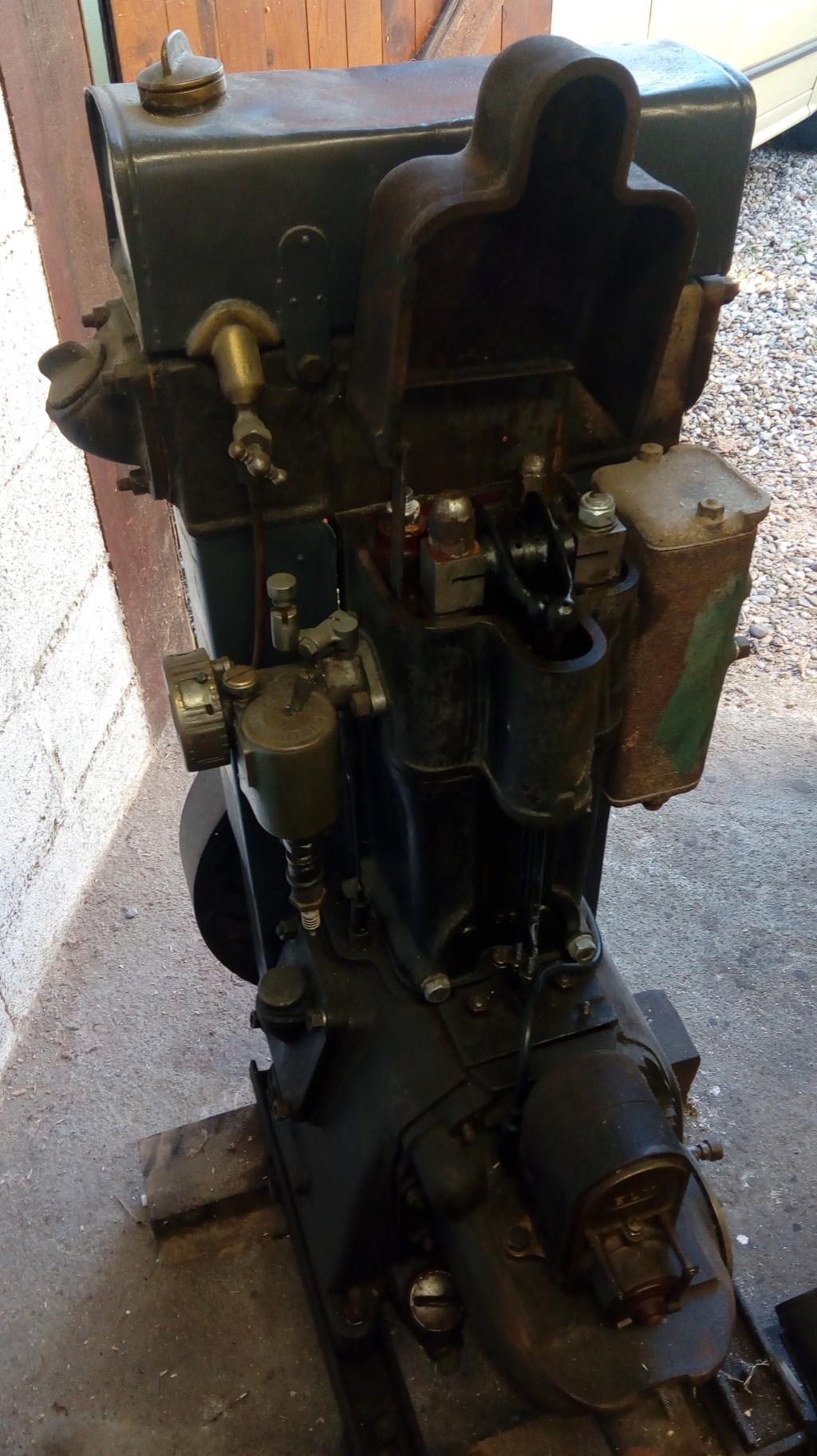 moteur - (terminé) Moteur Bernard (il est parti à la ferraille) Bernar11