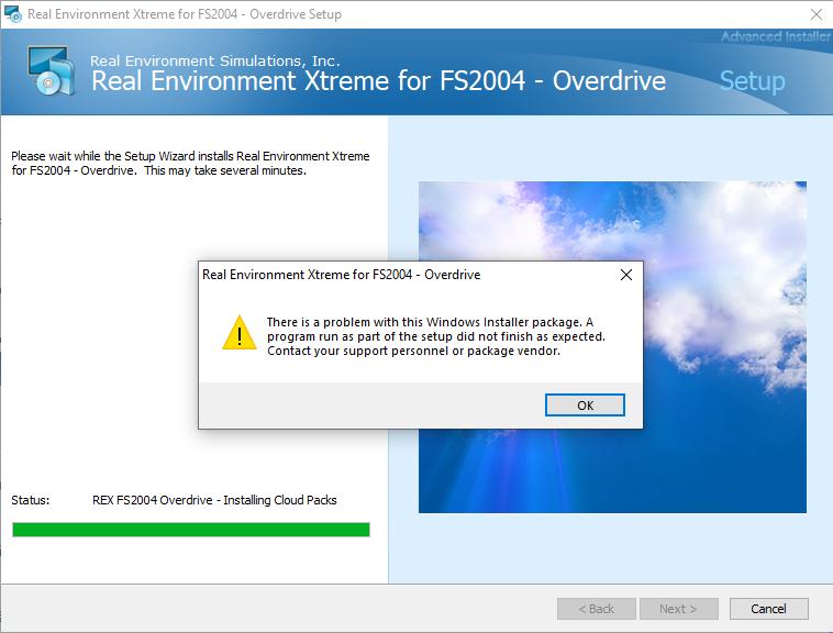 REX FS2004 não instala no Windows 10 64 bits Untitl10