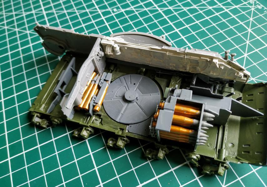 T 55A 1/35 Miniart 414