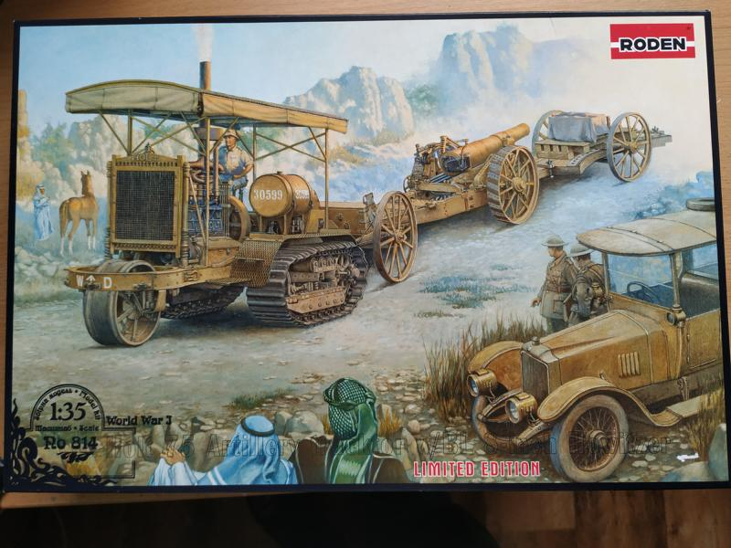 Holt 75 Artillery tractor w/BL 8-inch Howitzer / Roden, 1:35 Img_2113