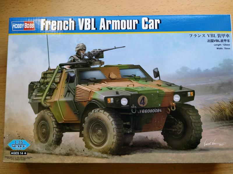 French VBL Armour Car 1/35 Hobby Boss Img_2138