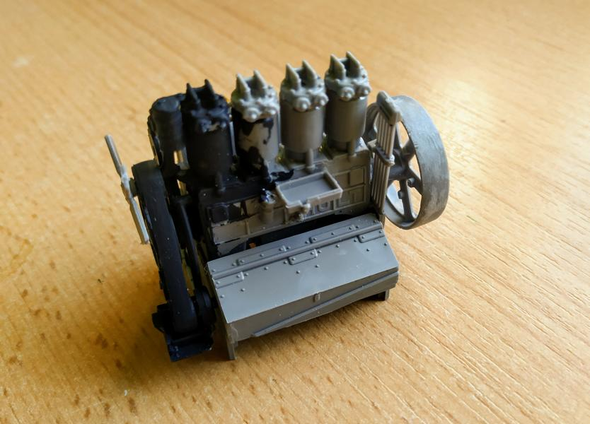 Holt 75 Artillery Tractor w/BL 8-inch Howitzer / Roden, 1:35 K800_i54