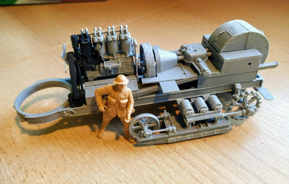 Holt 75 Artillery Tractor w/BL 8-inch Howitzer / Roden, 1:35 K800_i57
