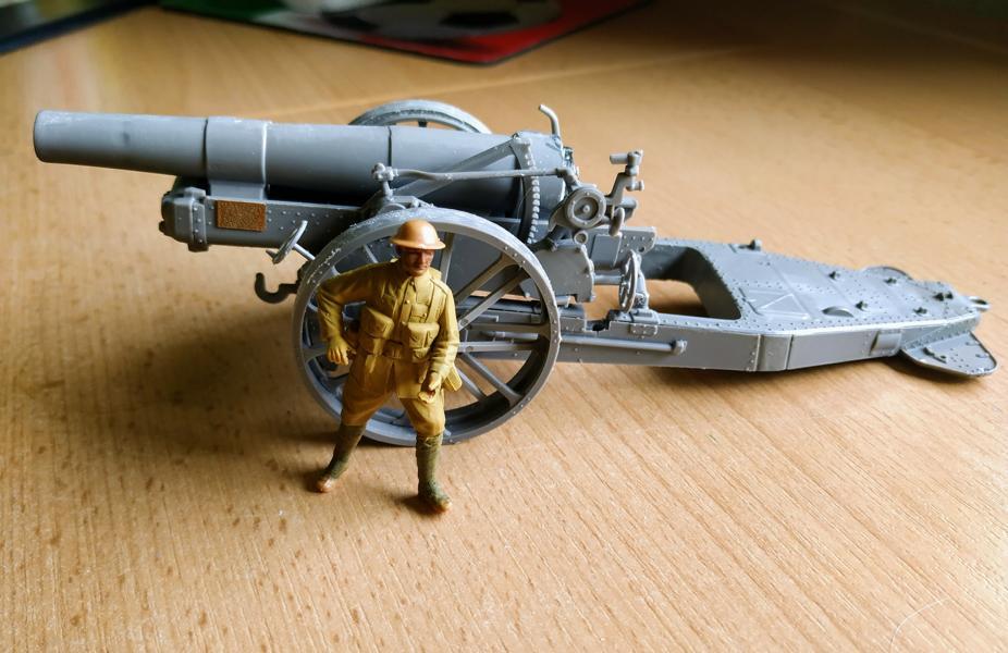 Holt 75 Artillery Tractor w/BL 8-inch Howitzer / Roden, 1:35 K800_i61