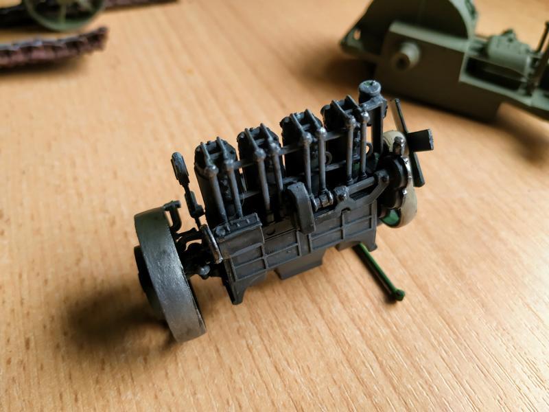 Holt 75 Artillery Tractor w/BL 8-inch Howitzer / Roden, 1:35 K800_i66