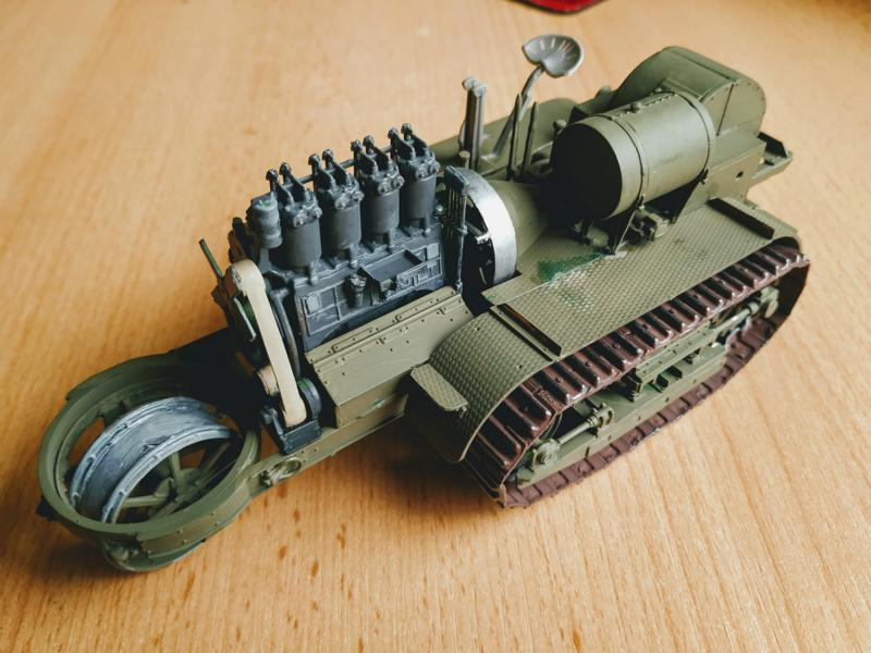Holt 75 Artillery Tractor w/BL 8-inch Howitzer / Roden, 1:35 K800_i67
