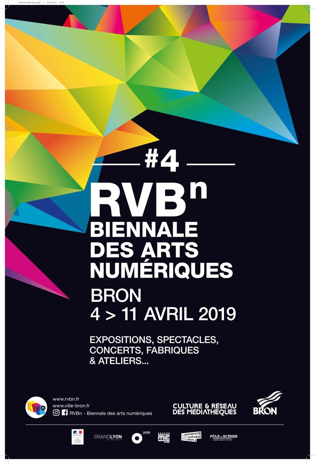 Biennale des Arts NumériquesRVBn#4 Affich10