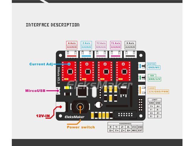 Eleksmaker IVAxis - joystick Eleksm10