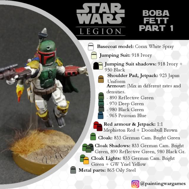 Guías de Pintura Star Wars Legion por Painting Wargames Boba_f13