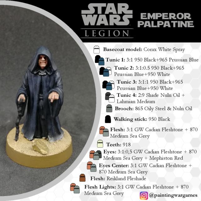 Guías de Pintura Star Wars Legion por Painting Wargames Empero10