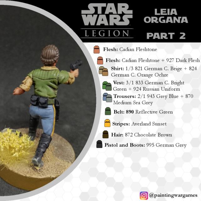 Guías de Pintura Star Wars Legion por Painting Wargames Prince11