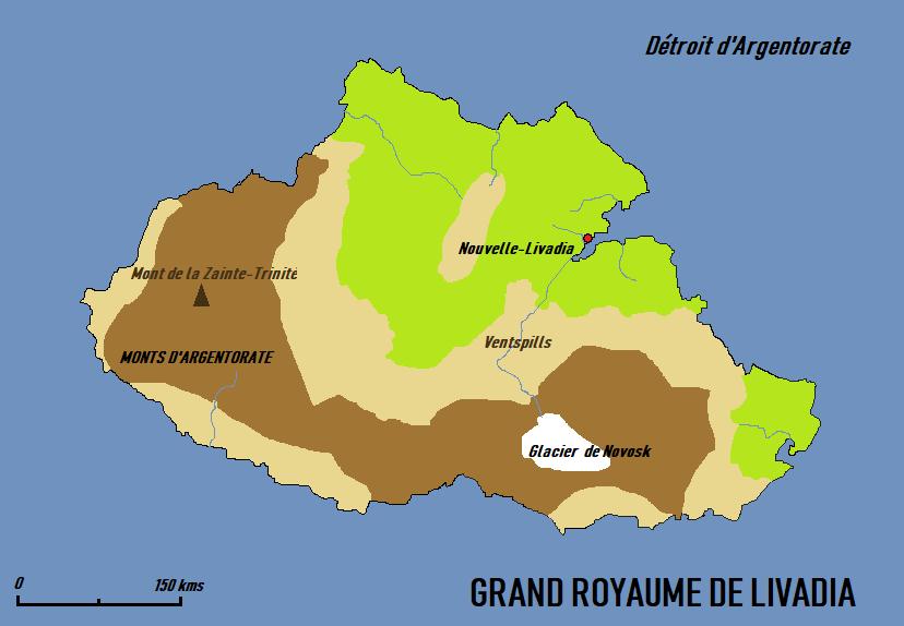Notice descriptive du Grand-Royaume de Livadia Szran310