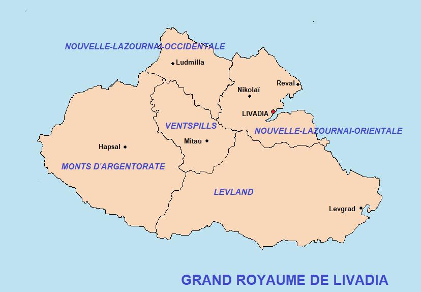 Notice descriptive du Grand-Royaume de Livadia Szran410