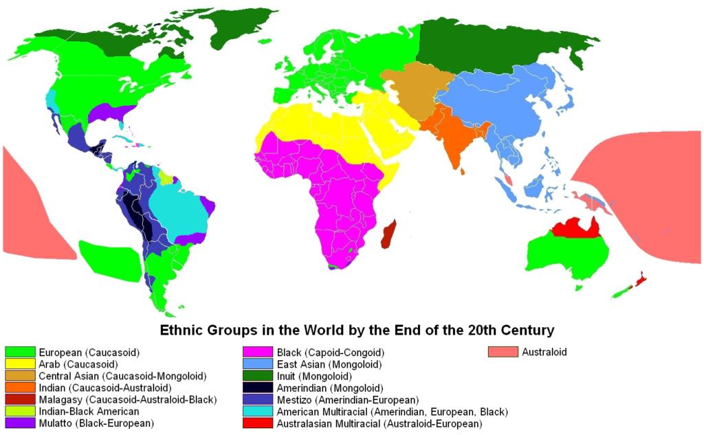 Las razas y etnias en el mundo Ethnic10