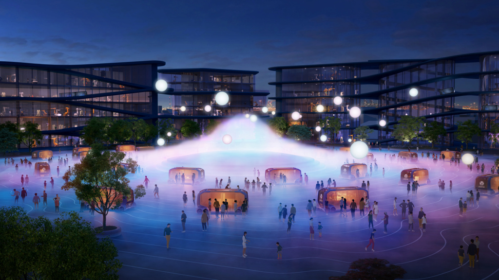 Toyota va construire la ville du futur !!! 16142310
